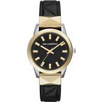 ladies karl lagerfeld labelle stud watch kl3802