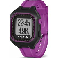 unisex garmin forerunner 25 bluetooth smart alarm chronograph watch 0100135330