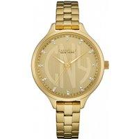 ladies caravelle new york round slim watch 44l206