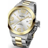 mens tw steel canteen 45mm watch cb0031