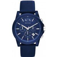 mens armani exchange chronograph watch ax1327
