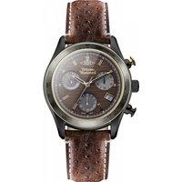 mens vivienne westwood sotheby chronograph watch vv142brbr