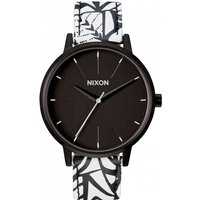 ladies nixon the kensington leather watch a1082218