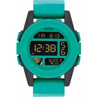 mens nixon the unit alarm chronograph watch a1972234
