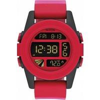 mens nixon the unit alarm chronograph watch a1971488
