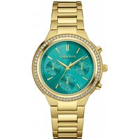 ladies caravelle new york chronograph watch 44l215