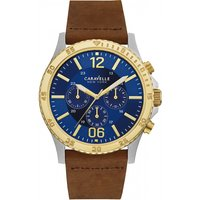 mens caravelle new york chronograph watch 45a135