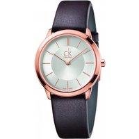 mens calvin klein minimal 35mm watch k3m226g6