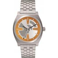 unisex nixon the time teller sw bb8 orange / black watch a045sw2605