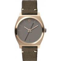ladies nixon the medium time teller sw rey light gold watch a1130sw2607
