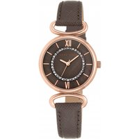 ladies anne klein watch ak/n2192rgtp