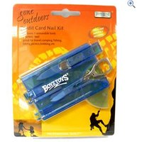 Boyz Toys Credit Card Nail Kit