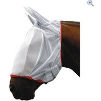 Cottage Craft Full Face Fly Mesh Mask - Size: PONY - Colour: White