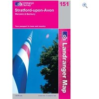 Ordnance Survey Landranger 151 Stratford Upon Avon Map Book - Colour: 151