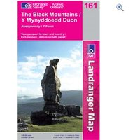 Ordnance Survey Landranger 161 The Black Mountains Map Book - Colour: 161