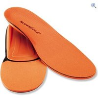 Superfeet Trim-to-Fit Premium Insoles, ORANGE - Size: G - Colour: Orange