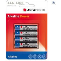 AgfaPhoto AAA Digital Alkaline Battery (4 pack)