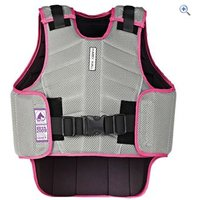 Harry Hall Zeus Childrens Body Protector - Size: S - Colour: Grey Pink