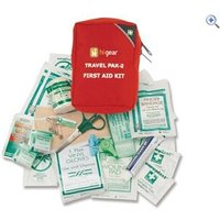 Hi Gear First Aid Kit 2 (17 Items) - Colour: Red