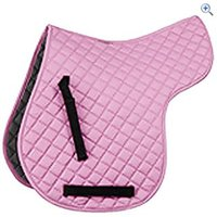 Shires General Purpose Quilted Numnah - Size: M - Colour: Pink