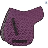 Shires General Purpose Quilted Numnah - Size: M - Colour: Purple