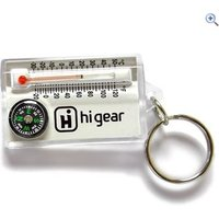Hi Gear Keychain Thermometer/Compass