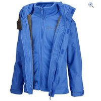 Hi Gear Trent Childrens 3-in-1 Jacket - Size: 5-6 - Colour: Blue