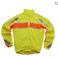 Polaris Mens RBS Hi-Vis Cycling Jacket - Size: S - Colour: Yellow
