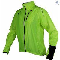 Polaris Aqualite Extreme Mens Cycling Jacket - Size: L - Colour: Yellow