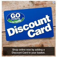 GO Outdoors Discount Card (5 a Year)