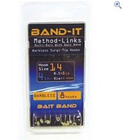 Band-It Method Hair Rig 4 Hooks to Nylon, size 14