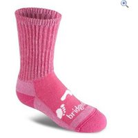 Bridgedale WoolFusion Trekker Childrens Socks - Size: JL - Colour: Pink