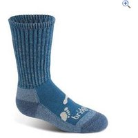 Bridgedale WoolFusion Trekker Childrens Socks - Size: JM - Colour: Storm Blue