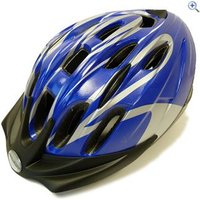 Raleigh Infusion Cycling Helmet (Blue/Silver) - Size: M - Colour: Blue And Silver