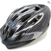 Raleigh Infusion Cycling Helmet (Carbon/Silver) - Size: M - Colour: CARBON-SILVER
