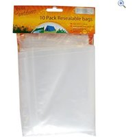 Boyz Toys Re-Sealable Bags, pack of 10