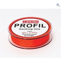 Leeda Profil Backing Line 100m, Orange, 30lb