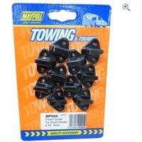 Maypole Trailer Cover Tie Down Hooks (10 Pack)