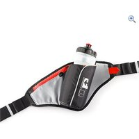 Ultimate Performance Ribble Hip Bottle and Holster - Colour: Red