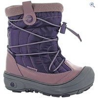 Hi-Tec Equinox Mid 200 Jr Snow Boots - Size: 3 - Colour: WINE-STELLA