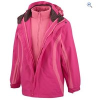 Hi Gear Yogi Childrens 3-in-1 Jacket - Size: 9-10 - Colour: Pink