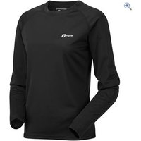 Hi Gear Regulate Womens Tech Tee (Long Sleeve) - Size: 10 - Colour: Black