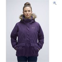 North Ridge Arley Womens Jacket - Size: 12 - Colour: Purple-Graphite