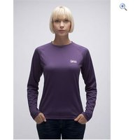 North Ridge Motion Womens Long Sleeve Baselayer - Size: 14 - Colour: Purple