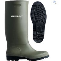 Dunlop Pricemastor Womens Wellingtons - Size: 38 - Colour: Green