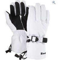The Edge Meribel Womens Ski Gloves - Size: 58-61 - Colour: White