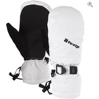 The Edge Meribel Womens Ski Mitts - Size: M-L - Colour: White