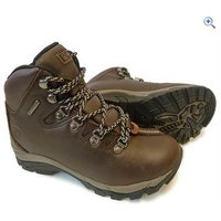 Hi Gear Snowdon Junior Walking Boots - Size: 2 - Colour: Brown
