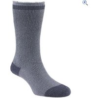 GO Outdoors Womens Heat Trap Socks (2 pair pack) - Size: XL - Colour: Smoke Grey
