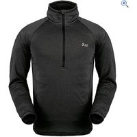 Rab Mens AL Pull-On Baselayer - Size: M - Colour: Black
